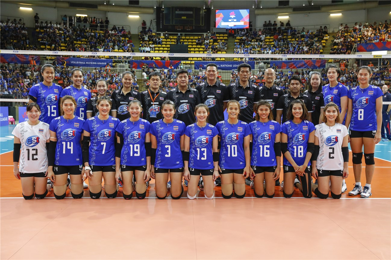 Volleyball Nations League F: focus sulla Thailandia
