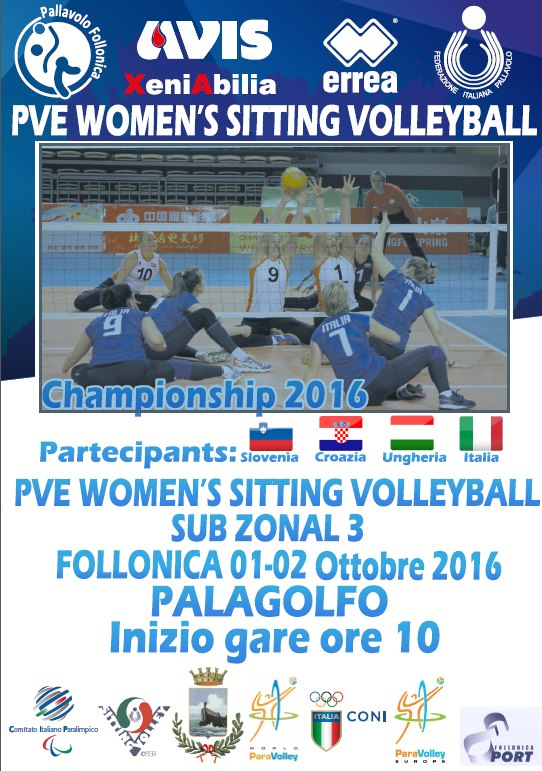 ParaVolley Europe Sub-Zone 3: le azzurre in campo nel week end