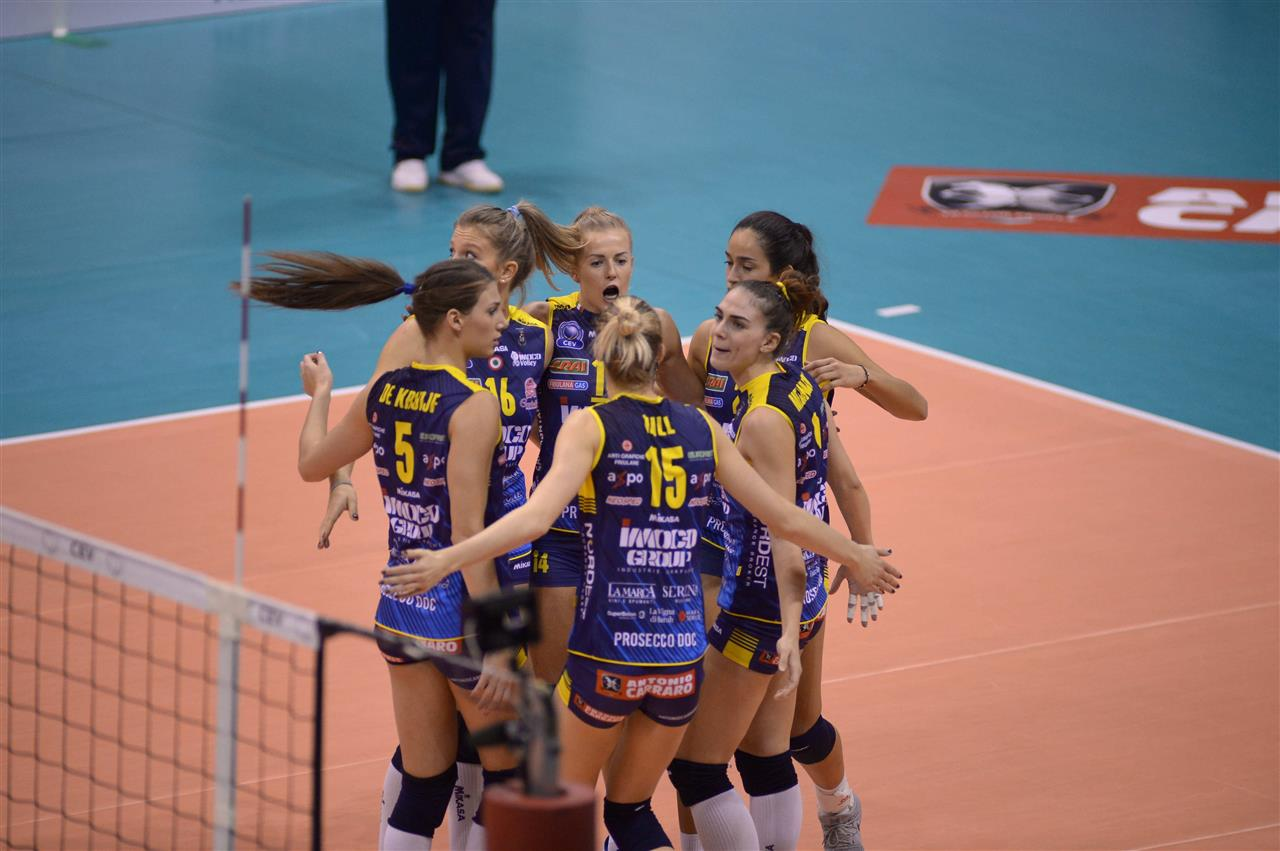 CEV Volleyball Champions League: le italiane in campo