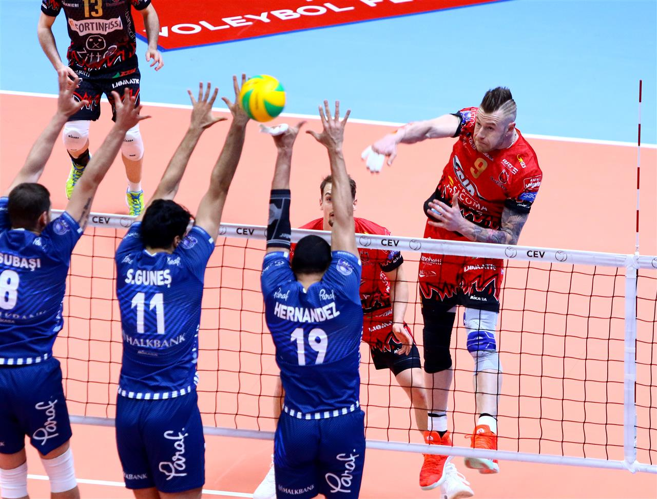 Champions League maschile: Perugia vince in tre set ad Ankara