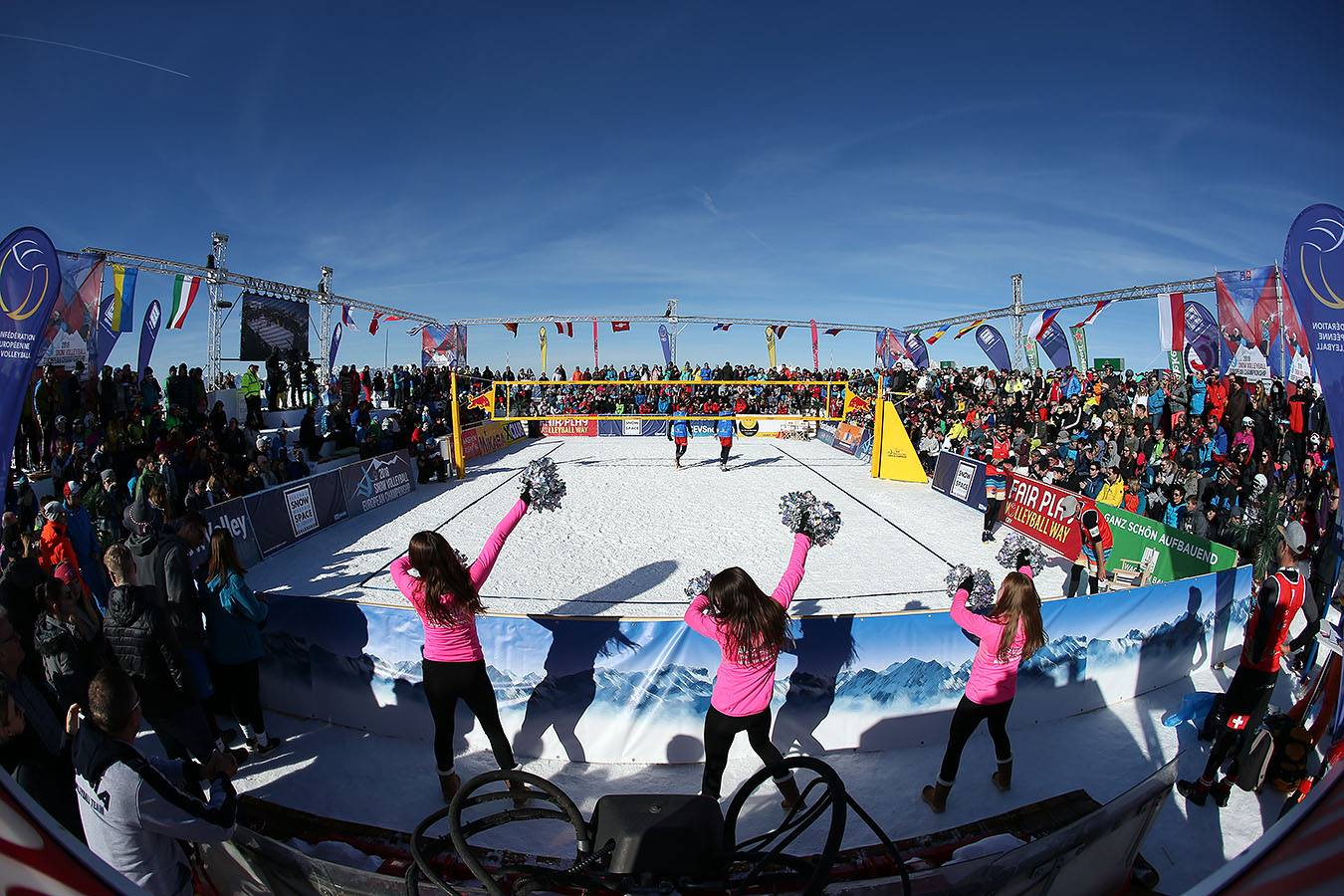 Cev Snow Volleyball European tour 2019: sette tappe in cinque Paesi