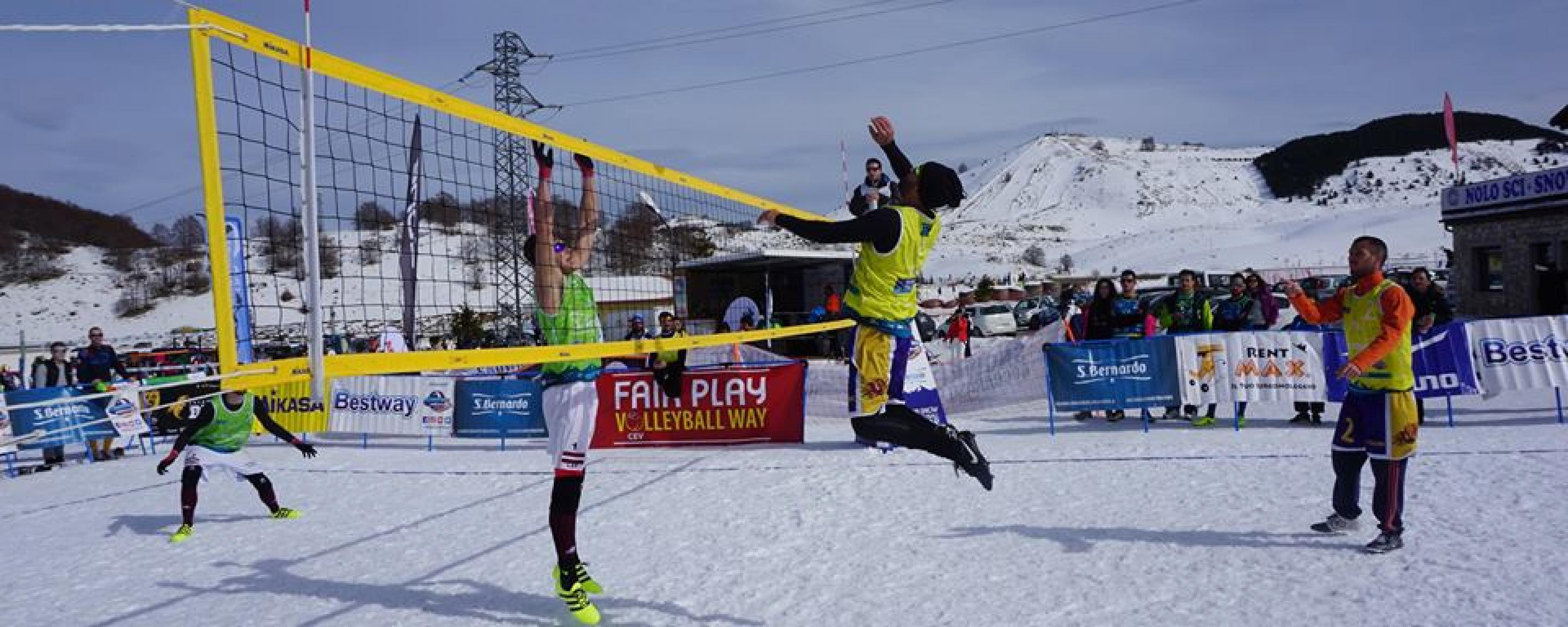 Acqua San Bernardo Snow Volley Tour 2019: al via la tappa di Roccaraso
